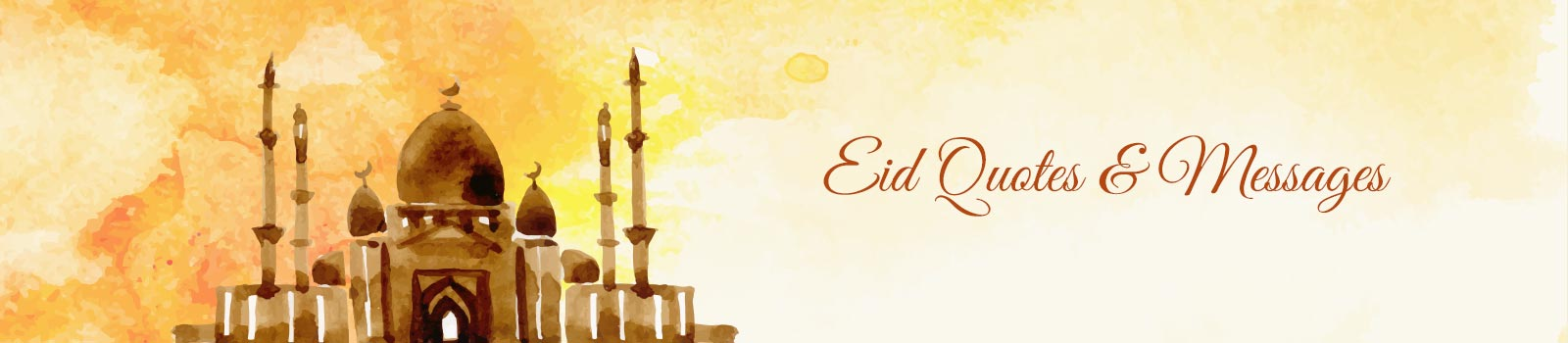 Eid Quotes Banner