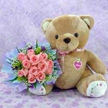 Bear n Flower   CIN: Gifts to China
