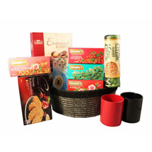 Tea Time Gift basket: Send Gifts to Croatia