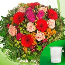 Delightful Medley Bouquet: Birthday Gifts Stuttgart