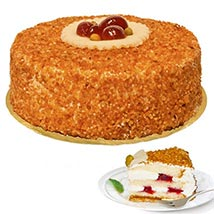 Dessert Hazelnut Brittle Cake: Friendship Day Gifts to Germany