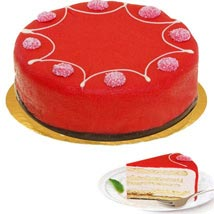 Dessert Raspberry Cake: New Year Gifts Germany
