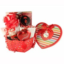 Forever Love - Romantic Gift basket: Chocolates for Birthday