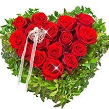 Rose Heart Ti Amo: Flowers N Chocolates