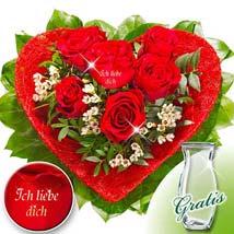 Valentin: Friendship Day Flowers to Germany