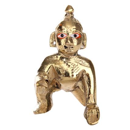 Brass Bal Shri Krishna