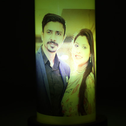 Glow Your Memory Personalized Lamp