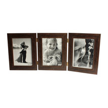 3 in 1 Personalised Brown Photo Frame: Photo Frame Gifts for Birthday