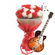 Allure of Music with Blooms: Friendship Day Flowers