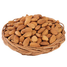 Almonds Basket: Fathers Day Gift Baskets