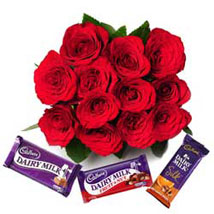 Always Close to my Heart: Flowers & Chocolates