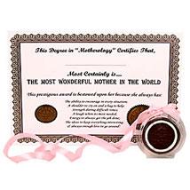 Amazing Mother Award: Send Thank You Chocolates