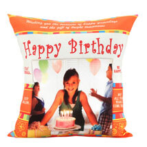 An Eternal Delight: Personalised Cushions - Birthday