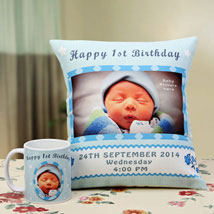Angelic Dreams Personalized Combo: Send Personalised Cushions for Friendship Day