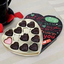 Black Heart Chocolate: Romantic Chocolates