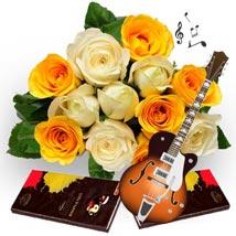 Blissful Notes: Flowers & Chocolates for Holi