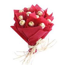 Bouquet Ferrero Rocher: Bhai Dooj Gifts Jodhpur