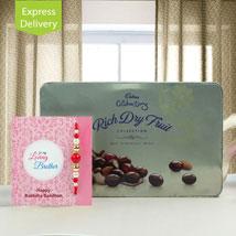 Cadbury Rich Dryfruits For Bhaiya: Rakhi Gifts for Brother