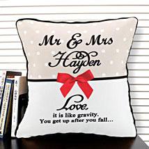 Cherishment of Love: Send Personalised Cushions - Love