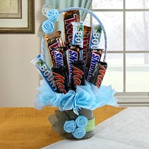 Chocolate Bar Bouquet: Chocolate Bouquet
