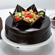 Chocolate Fruit Gateau: Chocolate Cakes Hyderabad