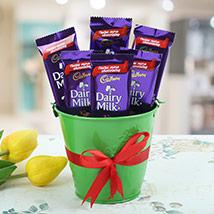 Chocolaty Vase: Diwali Chocolates