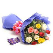 Colour Blast: Wedding Roses