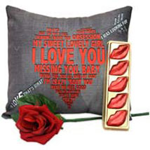 Comfort With the Kiss Of Love: Rose Day Gifts