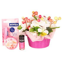 Cosmetic For Gorgeous Moms: Cosmetics & Spa Hampers for Mothers Day