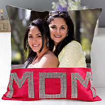 Dazzling Mom Cushion: Personalised Cushions Kolkata