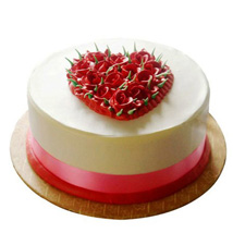 Desirable Rose Cake: New Year Gifts for Colleague
