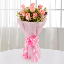 Endearing Pink Roses:  Gifts for Daughters Day
