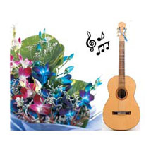 Express Your Love Musically: Flowers & Guitarist Service