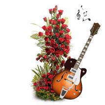 Flowery Rhythm: Valentine Flowers for Him