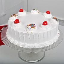 Fresh Vanilla Cake: