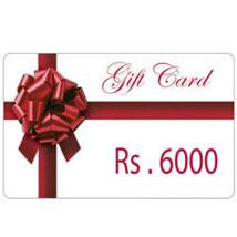 Gift Card 6000: Wedding Gifts Tirupur