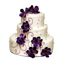 Glamorous Wedding Cake: Send Wedding Cakes to Kolkata