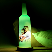 Glowing Love Personalized Lamp: Send Personalised Gifts to Kochi