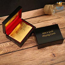 Golden Playing Cards: Send Crackers