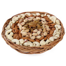 Half kg Dry fruits Basket: Diwali Gifts