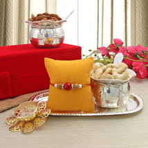 Healthy Rakhi Gift: Send Rakhi to Rajam