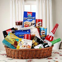 Hearty Sweet and Savory Basket: House Warming Gift Baskets