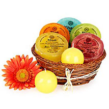 Heavenly Relaxing Soap Hamper: Send Thank You Gift Hampers