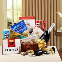 Holiday Gala Gift Basket: Send Wedding Gift Hampers
