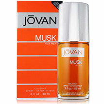 JOVAN MUSK Cologne Spray 3 OZA: Perfumes