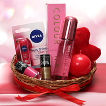Love Being A Woman:  Cosmetics & Spa Hampers for Wedding Gift