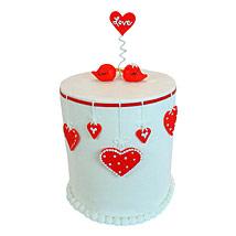 Love Birds Cake: Wedding Cakes Bengaluru