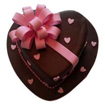 Love Flower Cake: Heart Shaped Cakes for Valentine