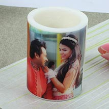Me and You Personalized Candle: Diwali Gifts Agartala