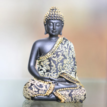 Meditating Buddha Statue: Home Decor Gifts for Him